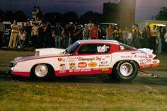 "Bill ""Grumpy"" Jenkins, Pro Stock Camaro, Keystone Raceway Park, New Alexandria, PA."