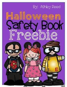 Your students will have fun completing this safety tips book for Halloween.  There are cute clipart images for them to color, and there are important tips to keep them safe as they trick-or-treat.  Enjoy this freebie!  Please follow my blog at www.justreed-ashley.blogspot.com for teaching tips, ideas, and more freebies! :)