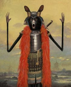 The Warrior No.1 © Bill Mayer 2014 https://www.behance.net/gallery/22093821/Happy-Holidays