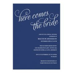$$$ This is great for          HERE COMES THE BRIDE | BRIDAL SHOWER INVITATION           HERE COMES THE BRIDE | BRIDAL SHOWER INVITATION we are given they also recommend where is the best to buyReview          HERE COMES THE BRIDE | BRIDAL SHOWER INVITATION Review from Associated Store with...Cleck Hot Deals >>> http://www.zazzle.com/here_comes_the_bride_bridal_shower_invitation-161960448284499730?rf=238627982471231924&zbar=1&tc=terrest