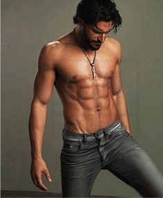 Oh. Oh. Yes. Please.  Joe Manganiello