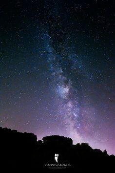 The Milky way, photo taken at the suburban of Athens, Greece