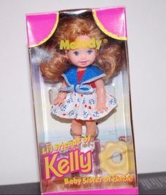 1997 Mattel Barbie lil Friends Of Kelly Melody Doll Baby Sister Collection