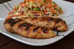 To Bake or Burn: Asian Grilled Chicken Tenders