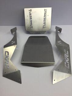 NLW001 - Next Level Axial Wraith 4 Piece Aluminum Panel Set - CKRC Hobbies  - 1