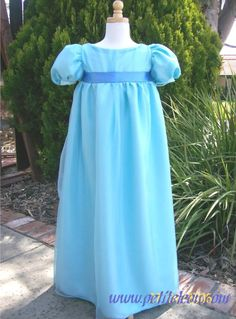 Wendy+Darling+Blue+Nightgown+Dress+Girl+Child+Costume+Peter+Pan