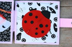 Quiet book for Morgen, fabric handmade book for a girl by TomToy