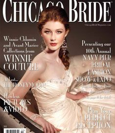 Chicago Bride Magazine Cover In 2010 Isn T The Model Lovely Chicagobridemag