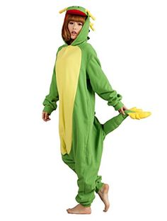 FashionFits Unisex Animal Cosplay Dragon Jumpsuit Pajama Costumes One Piece L * Read more reviews of the product by visiting the link on the image-affiliate link.