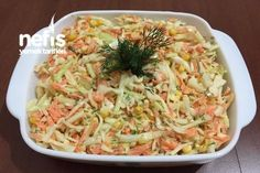 Coleslaw Salata (Yok böyle bir lezzet),cook Coleslaw salad (no such flavor) Like: (Visited 1 times, 1 visits today) Creamy Cole Slaw Recipe, Coleslaw Recipe Easy, Kfc Coleslaw, Coleslaw Salad, Creamy Coleslaw, Turkish Salad, Turkish Recipes, Ethnic Recipes, Pickled Cabbage