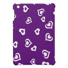 Purple Love iPad Mini Case