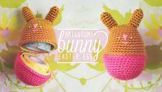Amigurumi Easter Bunny Eggs by Goodknits #crochet #free #pattern #haken #gratis #haakpatroon