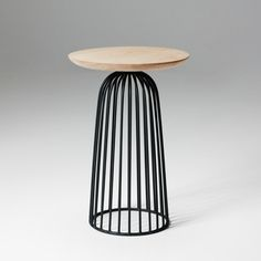 Wire Basket Table - Small