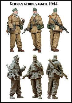 German Mountain trooper with MG 42. Now in stock from Evolution Miniatures.