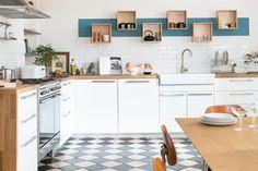Crédence, papier peint ou façades colorées, Maison Magazine vous propose trois solutions pour donner une nouvelle vie à votre cuisine...