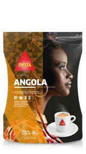 Delta Coffee originally from Angola such as it was for many decades before 1975. With a strong character and pronounced flavour, the Angola blend is a result of selecting the best African Robustas, characterised by their exotic aroma. With strong character and pronounced flavour, this coffee will give moments of intense pleasure.