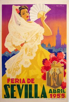 feria de abril poster - Google Search