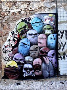 Murals, Studio Art, Street Art, Graffiti Art, Characters