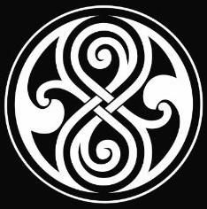 Whovian Seal of Rassilon Car Sticker Die cut Decal Notebook Car Laptop (White) style stickers/design sticker Hawaiianisches Tattoo, Samoan Tattoo, Celtic Patterns, Celtic Designs, Celtic Tattoos, Tribal Tattoos, Calf Tattoos, Cross Tattoos, Maori Tattoos