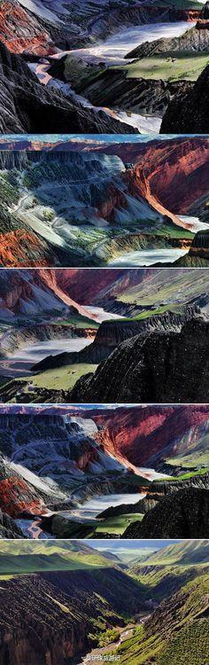Xinjiang, KuiTun grand canyon