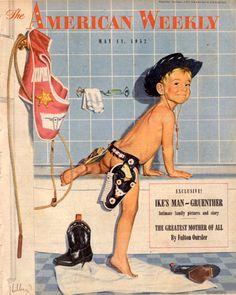 Robert_hilbert_vintage_illustration_bath_kid_50s