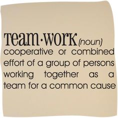 Dictionary Definitions | Dictionary Definition of Teamwork Vinyl Wall Art, Mirrorin - UK's No1 ...