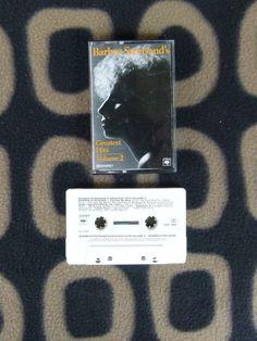 """Barbra Streisand - """"Greatest Hits, Volume 2"""" (1978), cassette"""