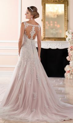 Stella York wedding dress. Click to see more dresses from this collection.