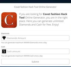 Free Diamonds Covet Fashion