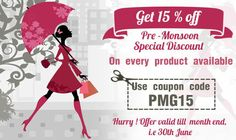 Pre-Monsoon and Other Discount Offers For You - Post My Greetings