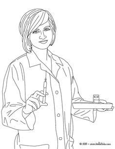 nurse 23 Nurse Coloring Pages Nursecoloring10 Free