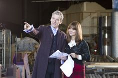 Peter Capaldi and Jenna Coleman on set So here we are, day one of a new series, with a new Doctor to boot! Peter Capaldi has started his new job today, app.