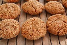 """The Healthy Happy Wife: Cinnamon Almond Cookies or """"Snickerdoodles"""" (Dairy, Gluten/Grain and Refined Sugar Free)"""