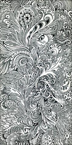 Doodle, pattern, drawing, zentangle
