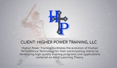 HPT casts a wide net of expertise, they specialize in Adult Learning Theory and translating that theory into powerful technological resources. Higher Power Training matches clients with a team of contractors who can skillfully execute their vision. Adult Learning Theory, Power Training, Athletic Trainer, Training Programs, Software Development, Case Study, A Team, Evolution, It Cast