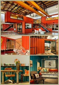 Shipping containers 490892428109202706 - CUBE – Creative Urban Business Environment Source by Container Home Designs, Shipping Container Office, Shipping Containers, Container Cafe, Container Gardening, Business Office Decor, Warehouse Design, Pole Barn Homes, Factory Design