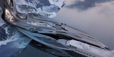 Zaha Hadid's Student Envisions an Antarctic Port For Tourism and Research