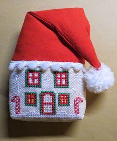 Stickeule: Wieder einmal.....Christmas house