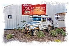 Off road in a #Toyota 4WD the #Yahava Koffeeworks way! #swanvalley #perth