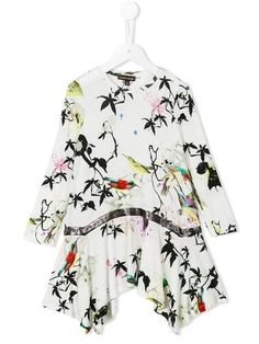 Shop Roberto Cavalli Kids belted bird print dress in Parisi from the world's best independent boutiques at farfetch.com. Shop 400 boutiques at one address.