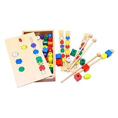 Montessori Bead Sequencing Set Block Toys DIY Classic Toy... https://www.amazon.com/dp/B072FKJLB6/ref=cm_sw_r_pi_dp_x_yDtyzbW7N1JJY