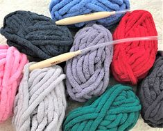 65 Best BeCozi Chunky Chenille yarn images in 2019