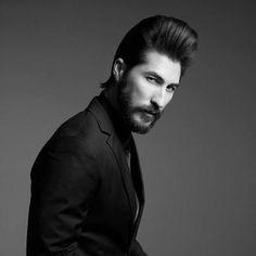 hairstyles by www.friseuragent.de präsentiert von www.my-hair-and-me.de #men #hair #haare #black #white #schwarz #weiss #long #lang #beard #bart