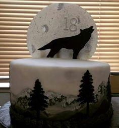 Wolf cake.