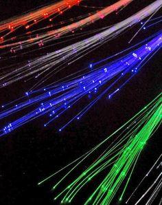 Glowby fiberoptic strands