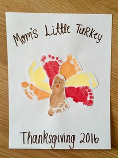 Baby's First Thanksgiving Crafts » The Life of Lori