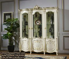 Living Room Display Cabinet, Royal Furniture, Bed Design, China Cabinet, Armoire, Storage, Interior, Modern, Home Decor