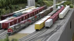 """Southern Pacific """"fast freight"""" with EMD SD70M's"""