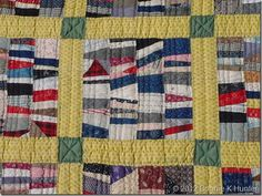 crumb quilt circa 1900