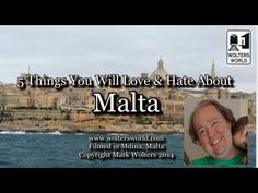 Visit Malta - 5 Things You Will Love & Hate about Malta - YouTube